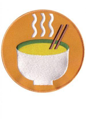 Kitchen Table Magazine - custom ramen bowl patch