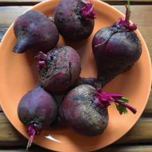 Kitchen Table Magazine roasted beets